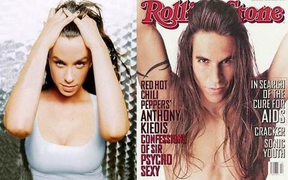 Alanis Morissette and Anthony Kledis