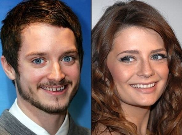 Elijah Wood and Mischa Barton