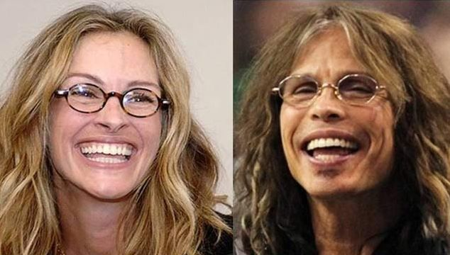 Julia Roberts and Steven Tyler