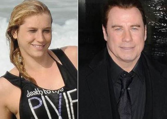Kesha and John Travolta