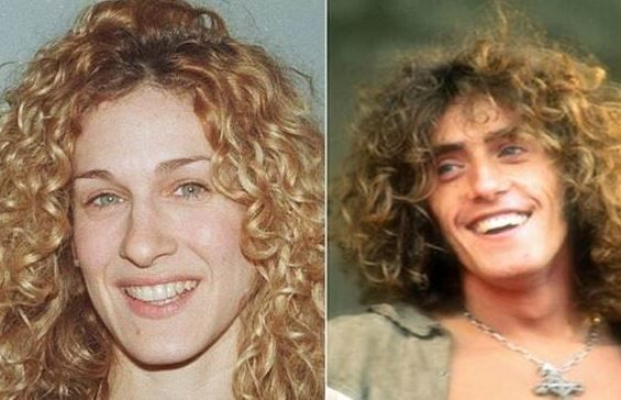 شباهت عجیب بین چهره افراد مشهور زن و مرد جهان + تصاویر